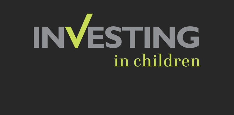 Brand identity designers for Investing in Children
