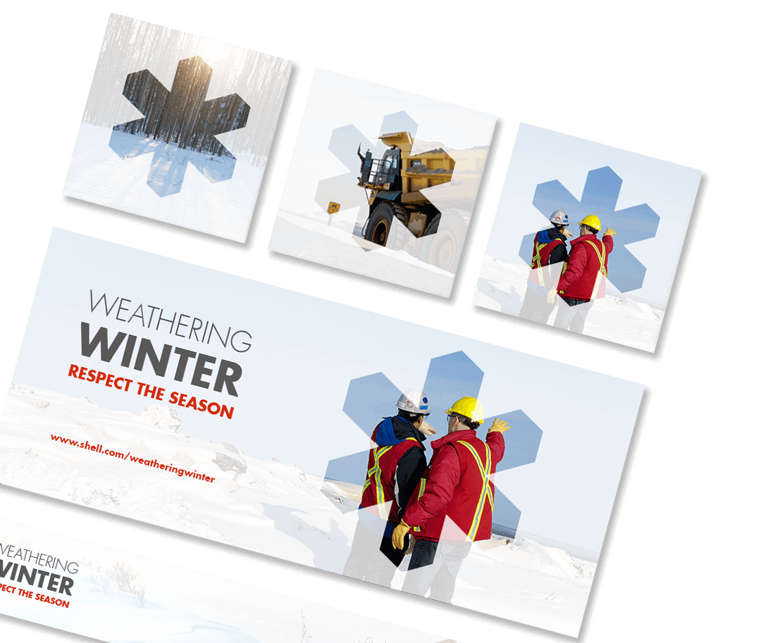 Copywriting services for winterization campaign, respect the season