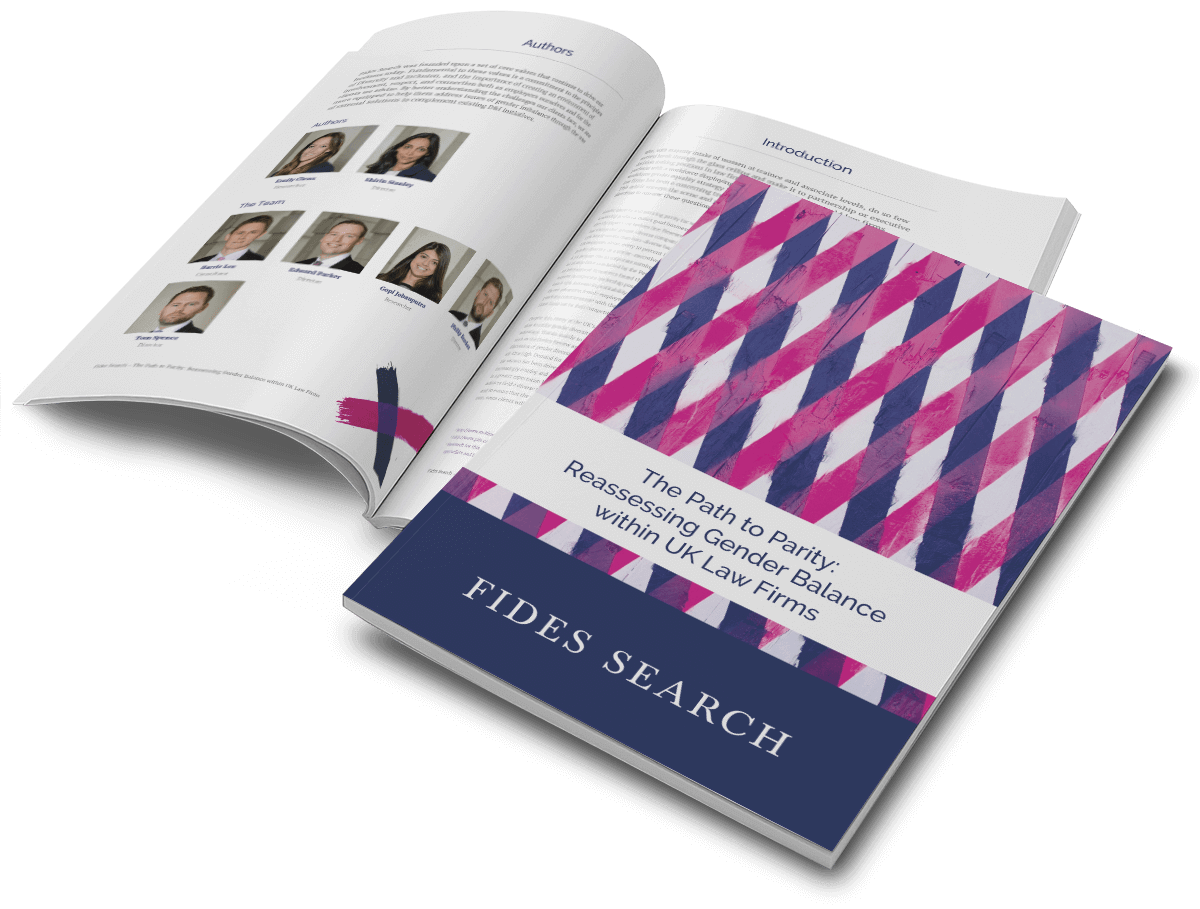 sales and marketing literature design for Fides Search