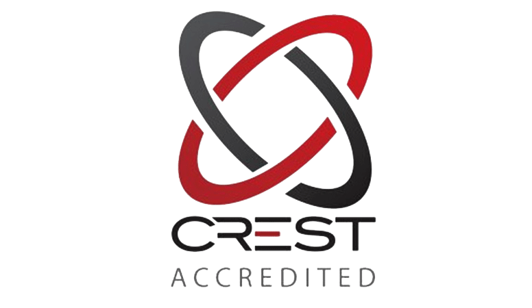Crest accredited security logo